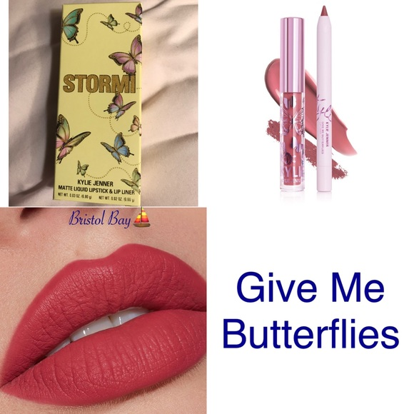 Kylie Cosmetics Other - Kylie Give Me Butterflies Lip Kit